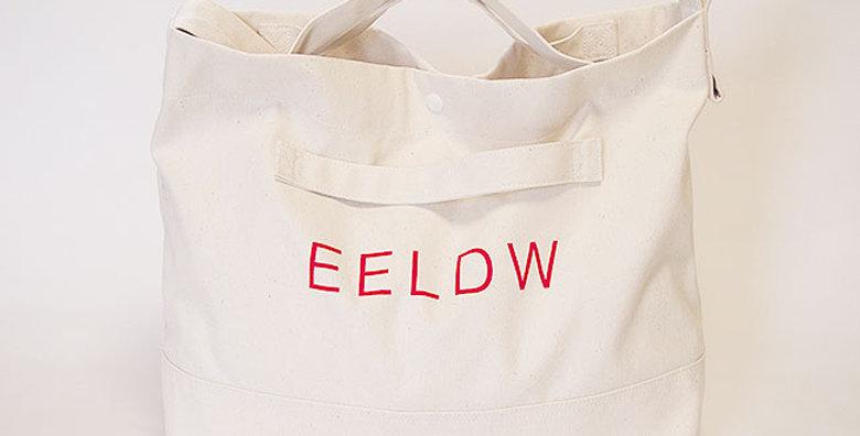 2WAY SHOULDER BAG(OFF WHITE・LOGO RED)
