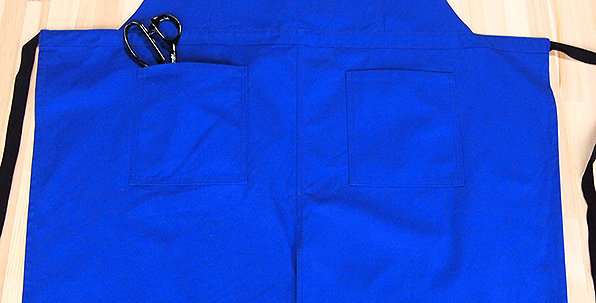 "APRON  (2WAY TYPE ""BLUE"")"