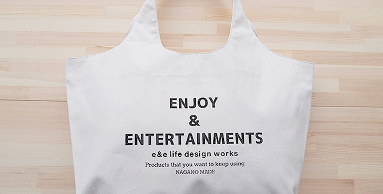 TOTE BAG OFF WHITE (ENJOY & ENTERTAINMENTS)
