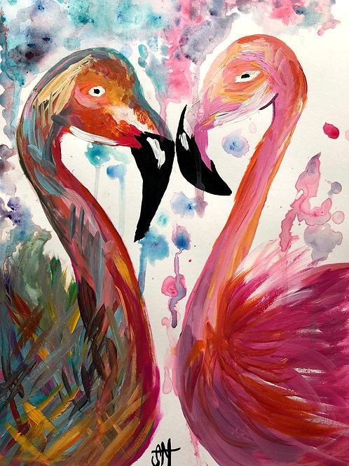 Flamingo'ing Love