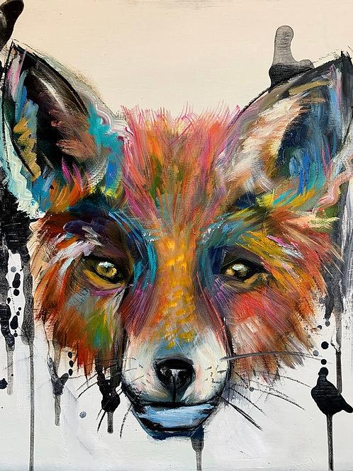 OIL SLICK FOX
