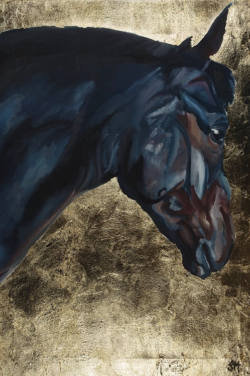 A2 Giclee Fine Art Print, 'Blue Horse'