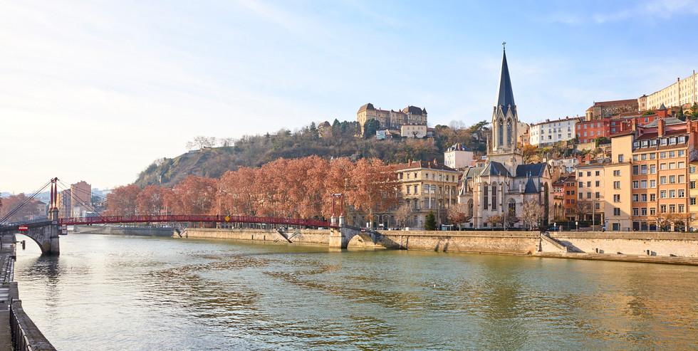 Saone RIver - Lyon, France