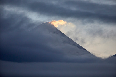 First light, Kozyrevsk Kamchatka