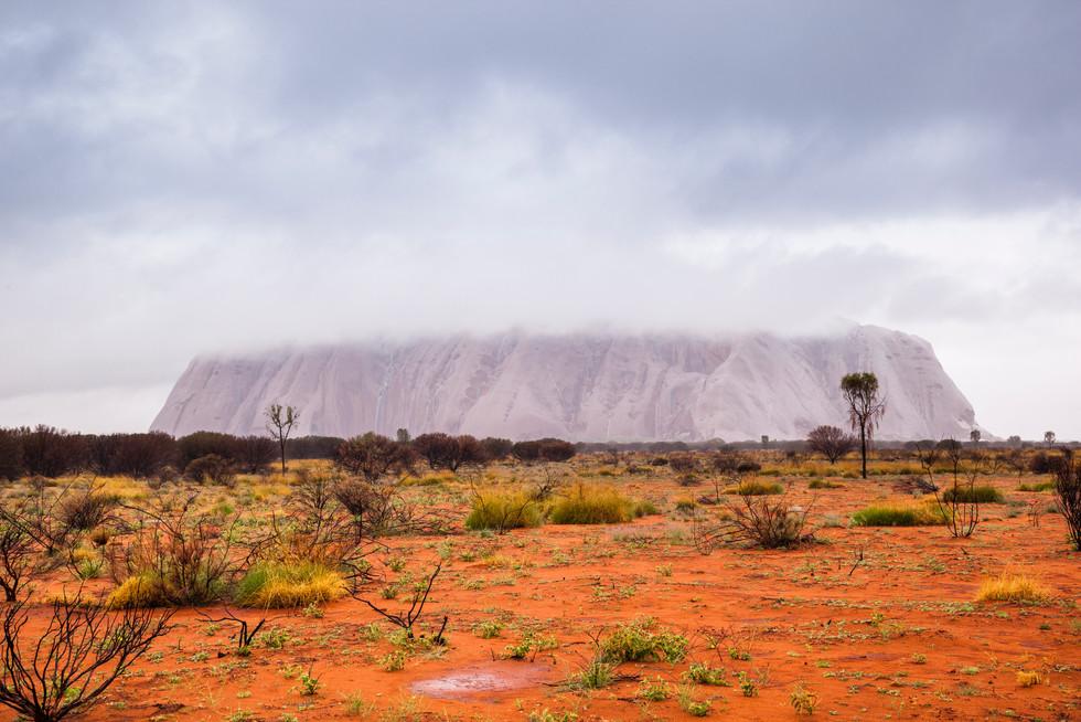 Clouded Over, Uluru / Ayers Rock