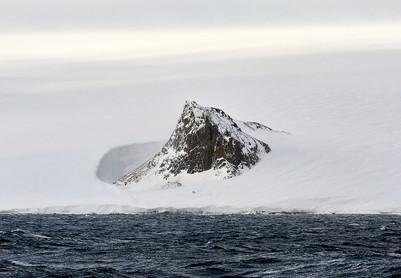 Breaking through, Antarctica