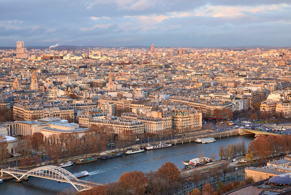 View from above - Paris, France