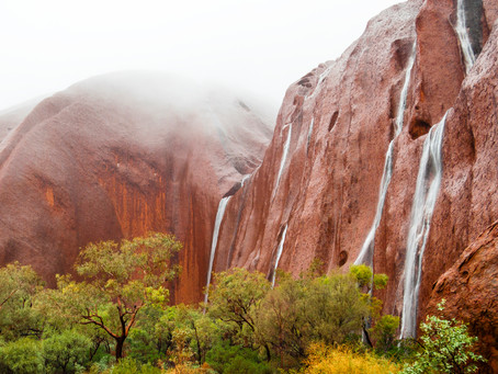 Chasing Waterfalls in the Red Centre