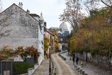 Montemartre streets - Paris, France