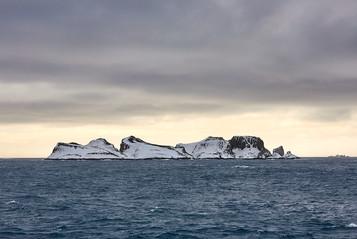 The white coast, Antarctica