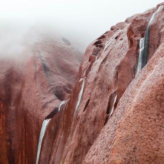 Sacred Falls, Uluru / Ayers Rock