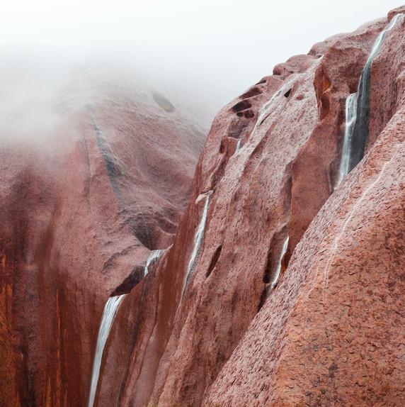 Uluru Waterfalls Northern Territory Aust