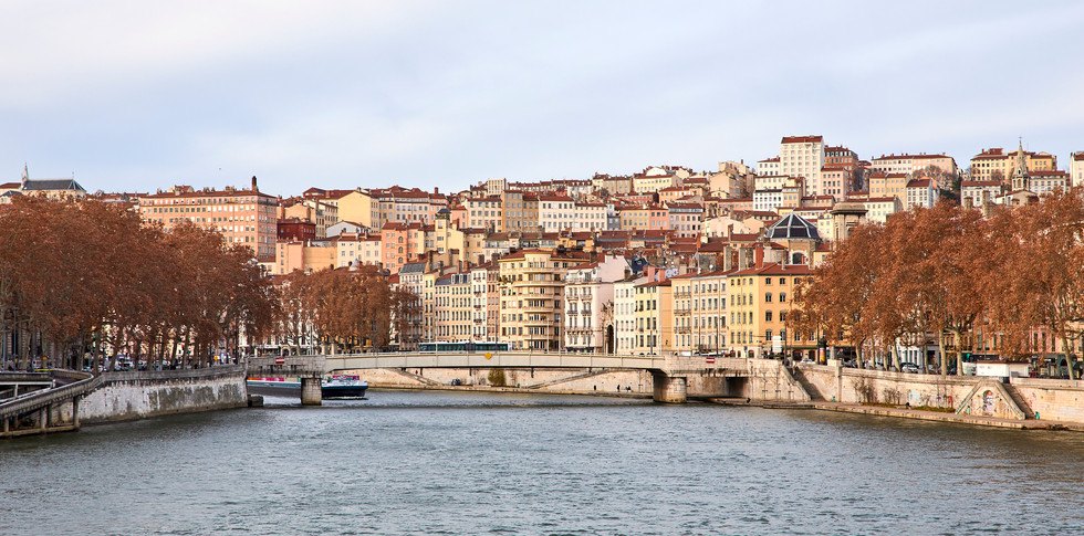 River living - Lyon, France