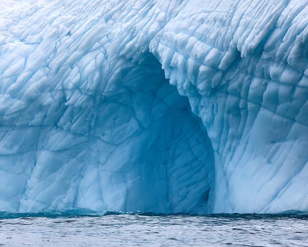 Elephant skin, Antarctica