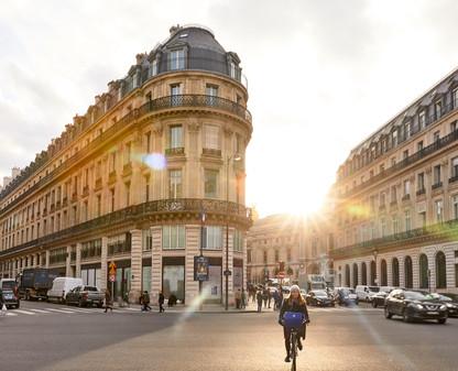 Winter Sunshine - Paris, France