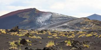 After the hail, Tolbachik Volcano Kamchatka