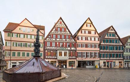 Medieval homes  - Tubingen, Germany