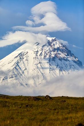 Volcano Cloud, Kozyrevsk Kamchatka