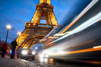 Lights ablaze - Paris, France