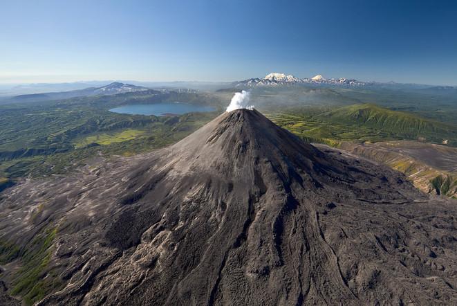 Karymsky Volcano, Kamchatka