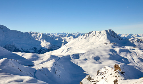 On top of the world, Aiguille Rouge