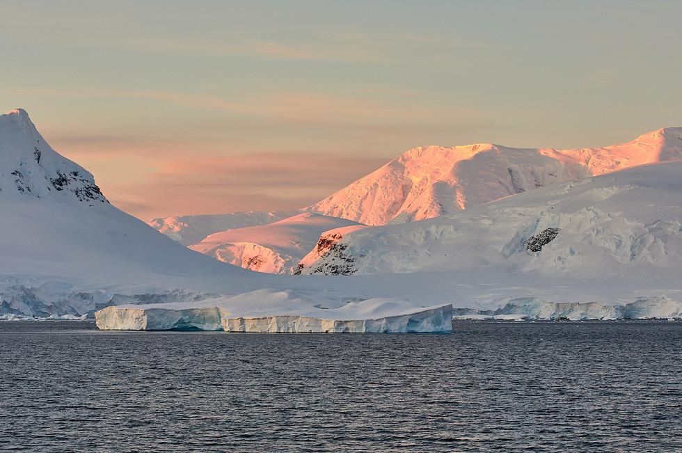 First light, Antarctica