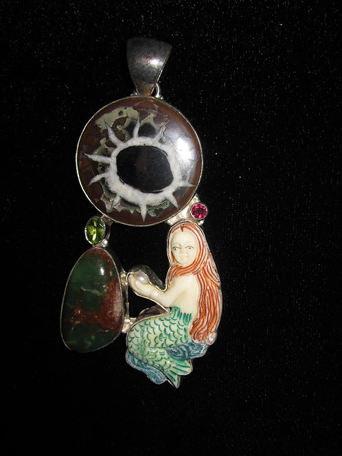 Bespoke Magical Mermaid Pendant