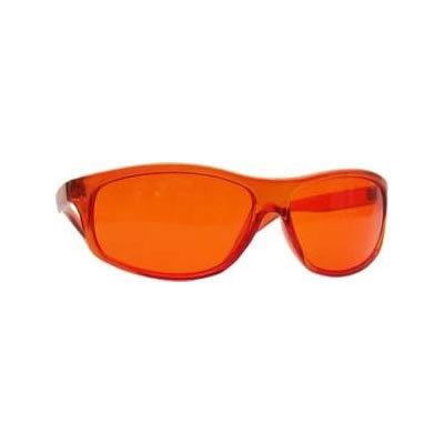 Orange Chroma Therapy Glasses