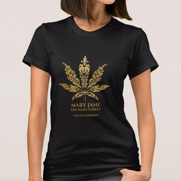 Mary Jane on Main Street Gold Standard T-Shirt