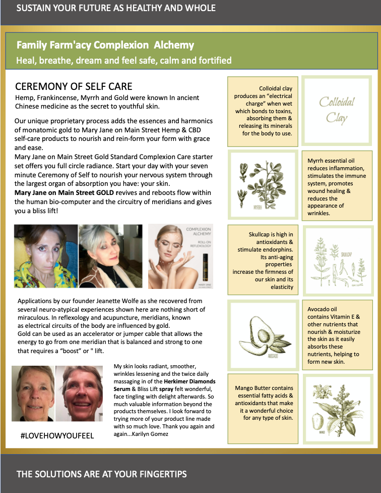 Complexion Alchemy Brochure