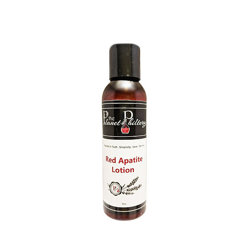 Red Apatite Hand & Body Lotion
