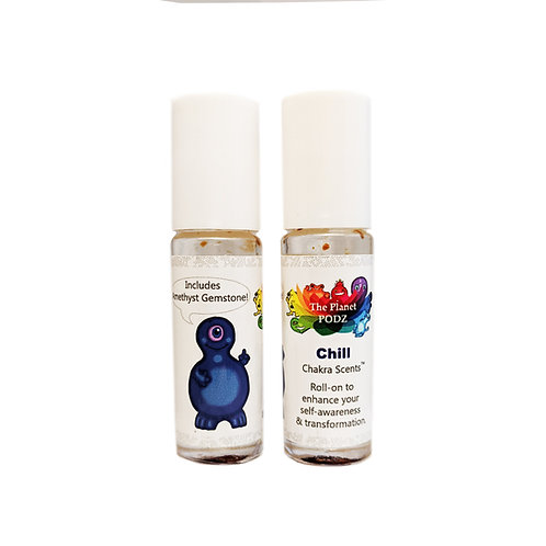 Chill Essential Oil Gemstone Roll-on