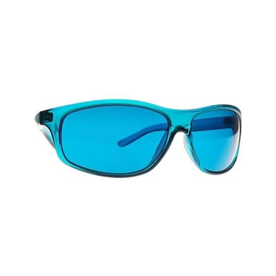 Turquoise Chroma Therapy Glasses