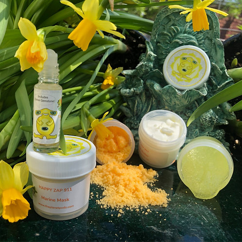 Yellow Wellness Pedi Cure Collection
