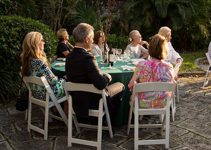 Coudert Institute Dinner for Peter Kiernan and American Mojo
