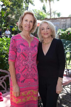 Sally Phelps with Patty Myura