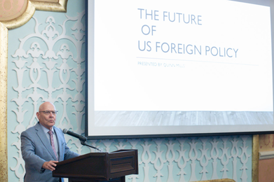 "D. Quinn Mills: ""The Future of American Foreign Policy"""