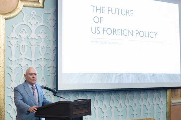 """D. Quinn Mills: """"The Future of American Foreign Policy"""""""