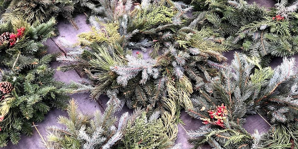 Workshop: Evergreen Wreaths (Saturday)