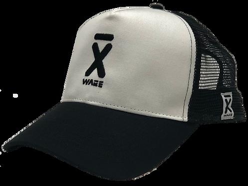 TRUCKER X-WAKE LOGO , black/white