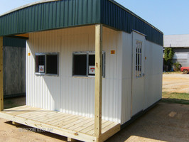 10x20x8- Deluxe- Concession Stand with Porch