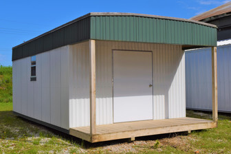 12x24x8- Deluxe with Porch