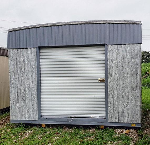 """12'x20'x8'-Deluxe- 1-6x6.5' Rollup Door, 1-48"""" Door, 1-Window"""
