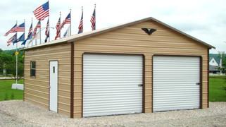Eagle Carports- 24x21x9- Double Car Garage