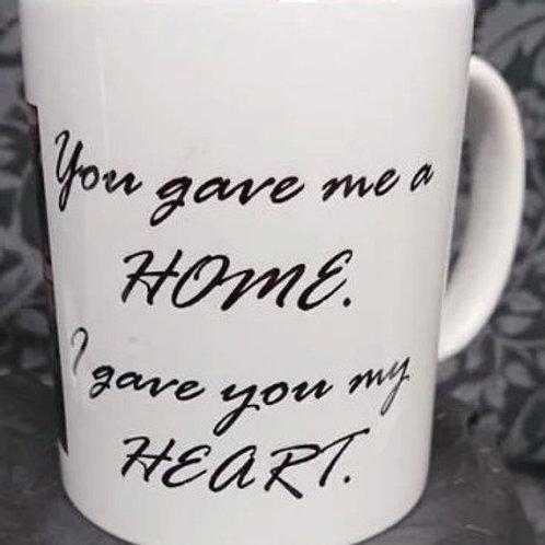 Dog Heart and Home Mug