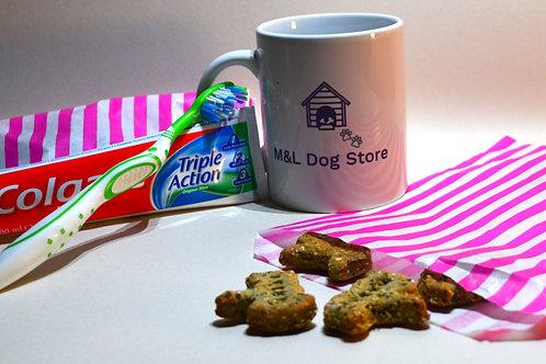 Fresh Breath Dog Shape Biscuit