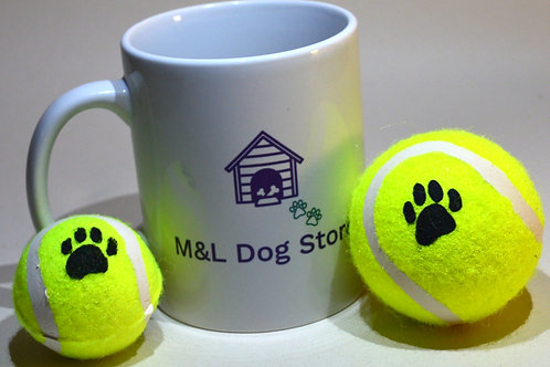 Custom Made Ceramic Mug and Treats