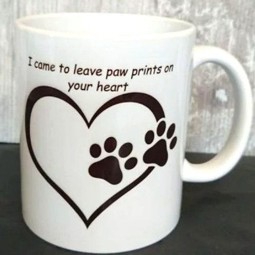 Paws Print Mug