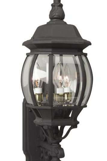 3 Light - Outdoor Wall Lantern
