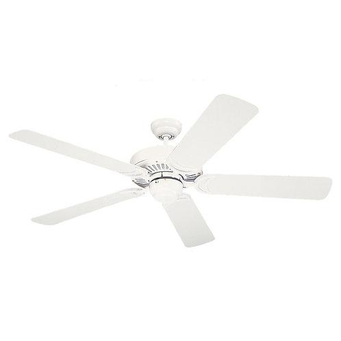 """52"""" White Ceiling Fan"""